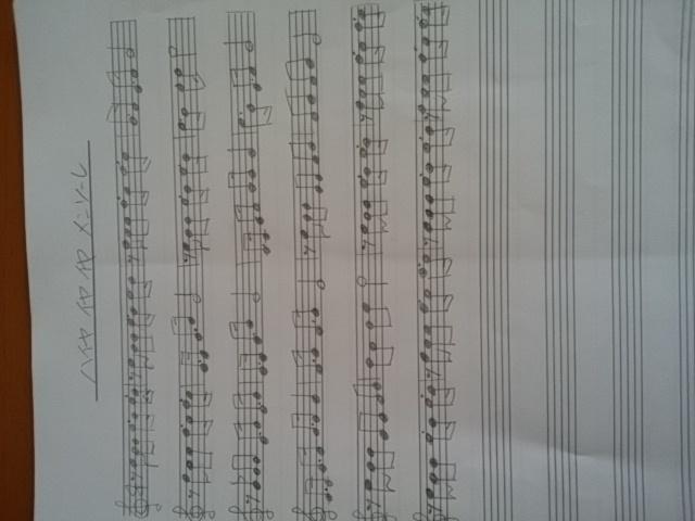 楽譜ノートから