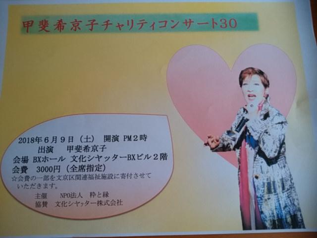 甲斐さんのコンサート